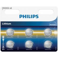 PHILIPS-PILA CR2032P6 01B