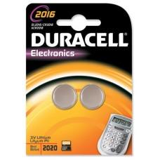 PILAS DURACELL DL2016B2 PACK 2